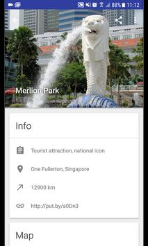 Singapore Travel Map screenshot 1