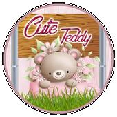 Cute Teddy Pink Theme icon