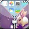 Cute  Zipper Lock Screen icon