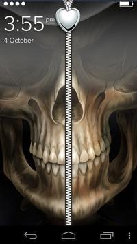 Monster Zipper Lock poster
