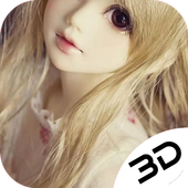 Cute Barbie Doll Depth Live Wallpaper For Android Apk Download