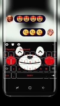 Cute Black bear keyboard poster