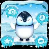 3D Cute Ice Penguin Launcher icon
