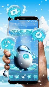 3D Cute Ice Penguin Launcher screenshot 1