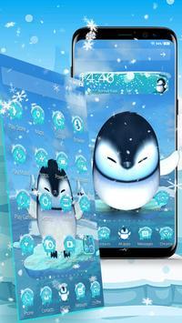3D Cute Ice Penguin Launcher screenshot 2