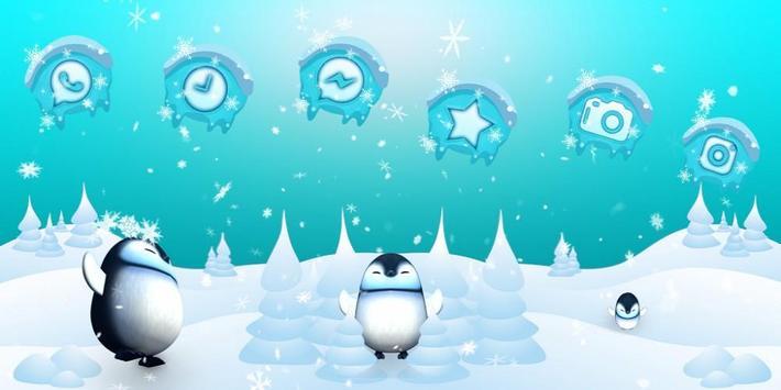 3D Cute Ice Penguin Launcher screenshot 3