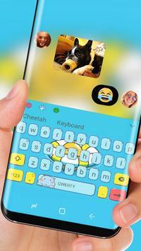 Cute Egg yolk Keyboard apk screenshot