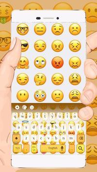 cute keyboard emoji poster