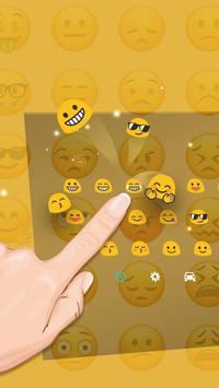 cute keyboard emoji apk screenshot