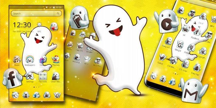 Snap Funny Face Theme screenshot 3