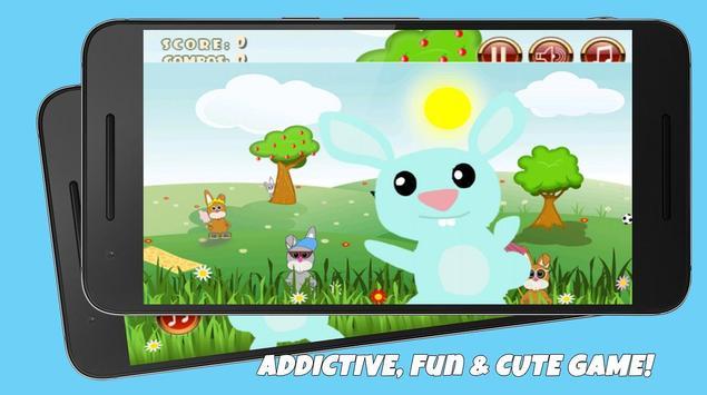Cute Bunny Jump screenshot 1