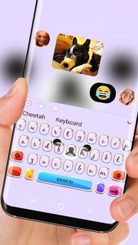 Cute kuma bear Keyboard apk screenshot
