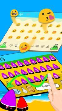 Cute Man Keyboard Theme apk screenshot