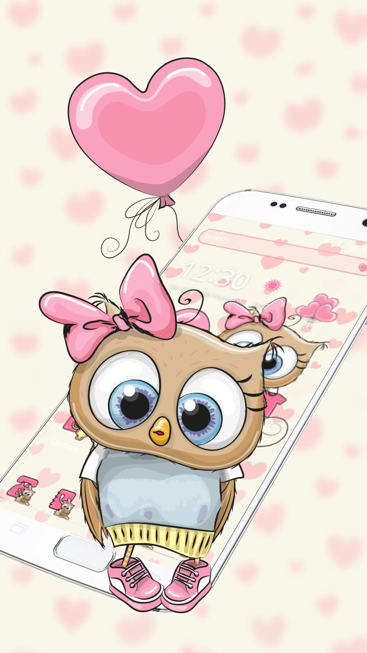 Cute Cartoon Owl Theme For Android APK Download