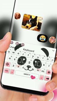 cute Panda Face Theme screenshot 2