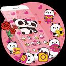 Pink Panda Cute Icons APK