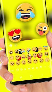 Yellow  Cute Pikachu Keyboard screenshot 1