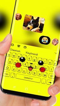 Yellow  Cute Pikachu Keyboard screenshot 2