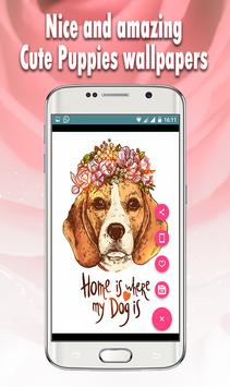 All Dogs wallpapers: Cute Puppy HD Wallpaper 2017 apk screenshot