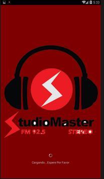 radio studio master cutervo poster