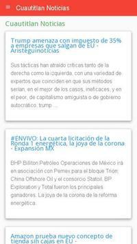 Noticias Cuautitlán poster