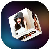3D Cube Live Wallpaper icon