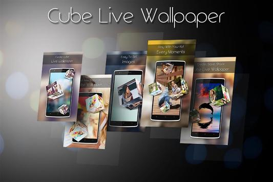 3D Cube Live Wallpaper screenshot 5
