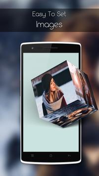 3D Cube Live Wallpaper apk screenshot