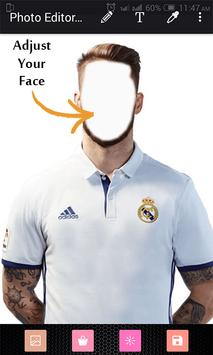 Photo Editor For Real Madrid poster