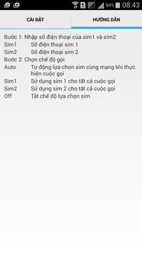 Smart Dual Sim apk screenshot