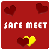 SafeMeet - Free Dating App icon