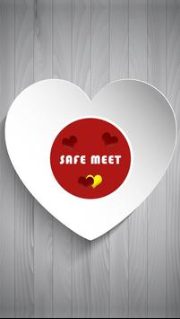 SafeMeet - Free Dating App poster
