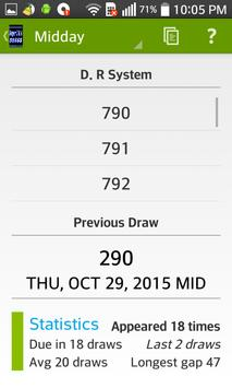 Super pick 3&4 Lottery apk screenshot