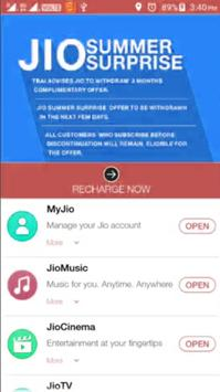 Tips For Myjio App poster
