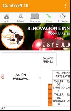 Cumbre 2016 apk screenshot