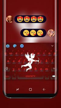 Cupid True Love Keyboard Dating Theme poster