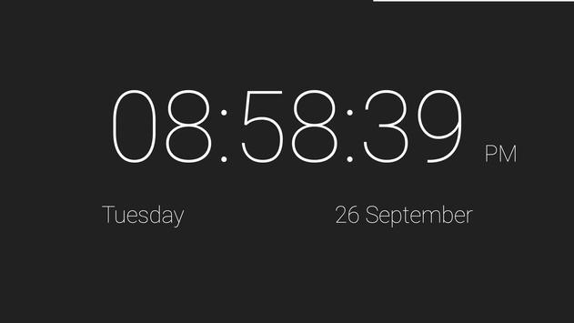 Material Desk Clock apk screenshot