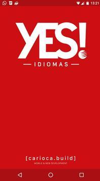 YES! Idiomas - Portal do Aluno poster