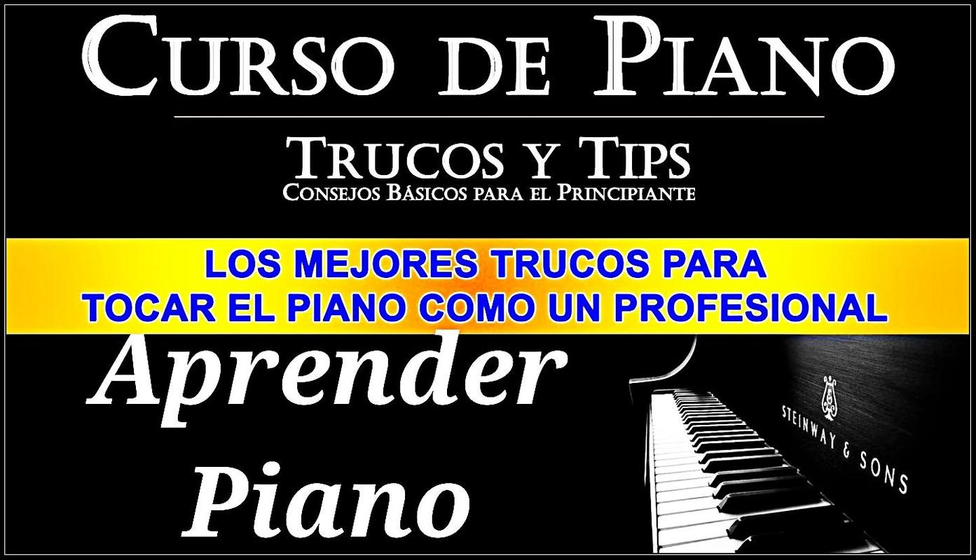 Course how to learn to play Piano poster ...
