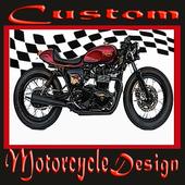 Custom Motorcycle Design icon