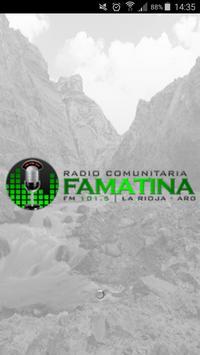 Famatina FM 101.5 poster