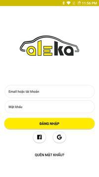 Aleka - Nhà xe & Tài xế poster