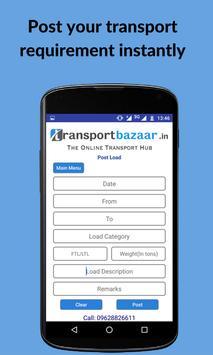 Transport Bazaar screenshot 1