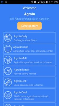 AgroIn - Agriculture App poster