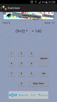 BrainWork - Numbers screenshot 1