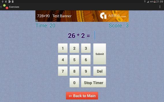 BrainWork - Numbers screenshot 3