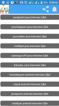 Computer Science Interview Corner apk screenshot
