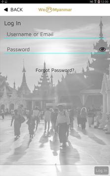 We-R-Myanmar apk screenshot