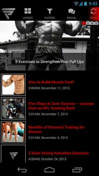 Fusion Performance Training poster