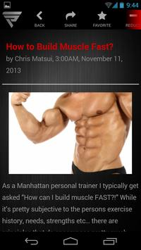 Fusion Performance Training apk screenshot